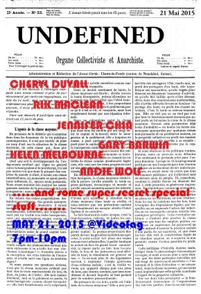 L'Avant-Garde_Front poster